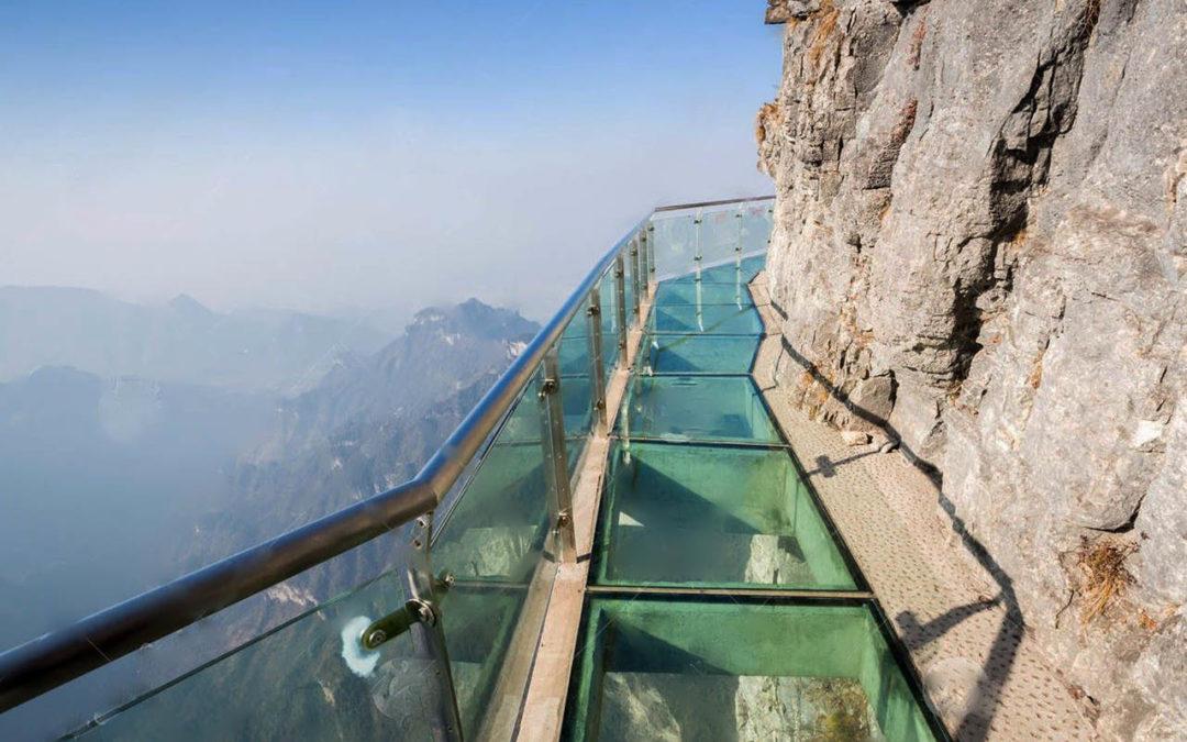 Maior passarela de vidro do mundo